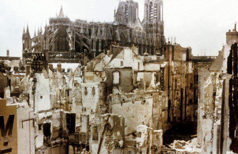 Ruines de Reims