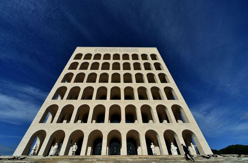 TOPSHOTS-ITALY-FENDI-ROME-HEADQUARTERS-FASHION