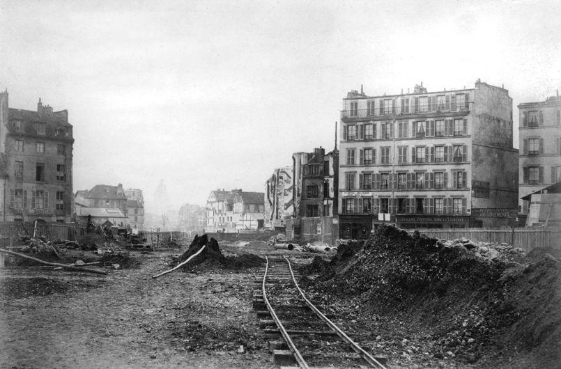 Les grands travaux haussmanniens a Paris