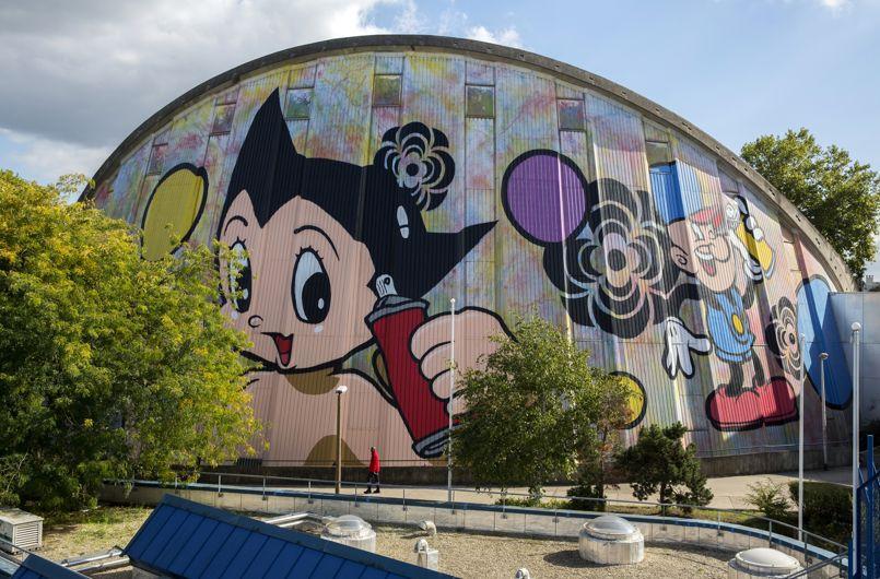 FRANCE-ART-GRAFFITI-FESTIVAL