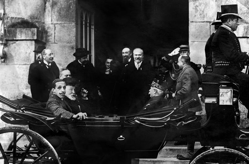 Poincare et Alphonse XIII