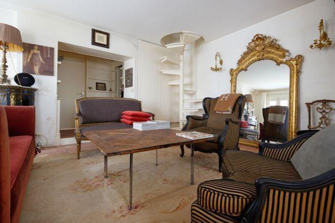 L'annonce précise qu'il est possible de diviser le logement en deux appartements.