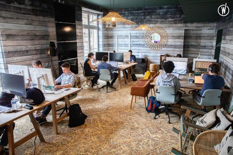 Découvrez les plus beaux bureaux de la Tech française