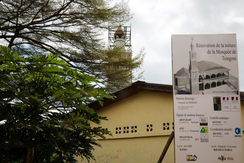 À Mayotte, la plus ancienne mosquée de France fait peau neuve