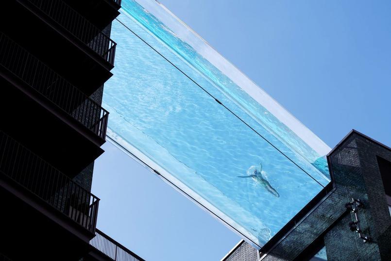 Cette piscine transparente de Londres invente une nouvelle façon de nager