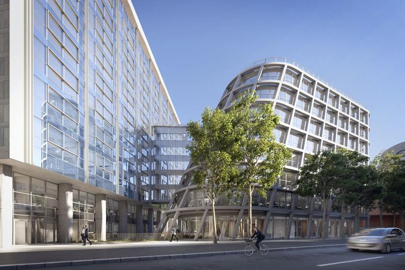 Des bureaux «dans» la nature, en plein centre-ville à Paris