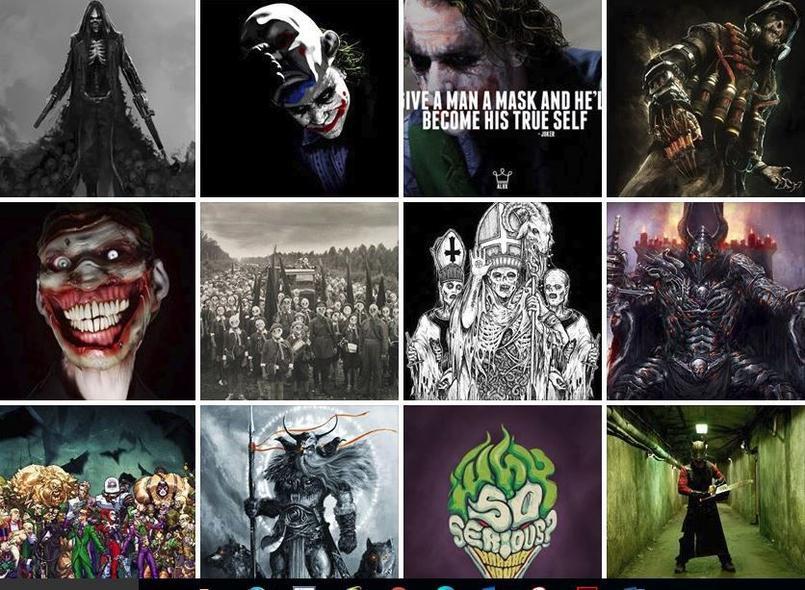 Sur sa page Facebook, le lycéen avait écrit le message du Joker: «Give a man a mask and he'll become his true self».