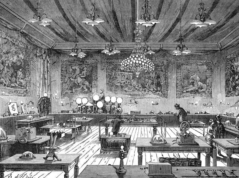 Les inventions d'Edison
