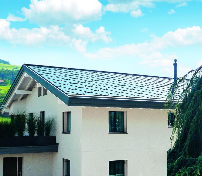 Face au toit solaire...