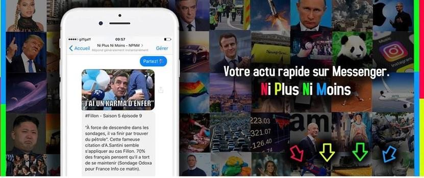 NPNM n'est pas une application, elle n'exige ni paiement ni espace libre sur le mobile. ©NiPlusNiMoins