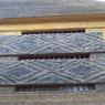 En souvenir de son passé africain, la pagode a conservé une «fenêtre» reprenant les motifs d'origine du bâtiment.