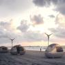 Une version (nettement) améliorée du camping sauvage sur la plage.