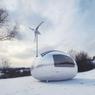 Avec son autonomie en énergie, l'ecocapsule devraitaussi pouvoir affronter le froid.