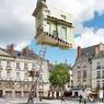 Pour le voyage à Nantes, cet étonnant «Déménagement» a surpris les visiteurs.