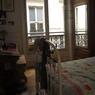 AVANT. La chambre initiale avec son lit en fer.