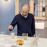 Le musée n'oublie pas d'aborder les matériaux qui constituent les fenêtres et leur évolution dans le temps.