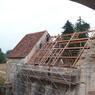 Le chantier peut être vu comme un gigantesque puzzle de pierres.