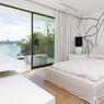La plupart des chambres sont orientées vers la mer.