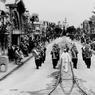 Parade dans Main Street en 1957.
