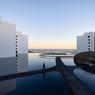 Achevé en 2016, l'hôtel mexicain Mar Adentro, situé à San José del Cabo a été primé pour son architecture extérieure particulièrement graphique due à Miguel Angel Aragonés.