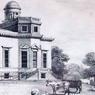 Gravure de 1800 représentant l'observatoire.