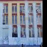 Le blanchiment des façades à la chaux déjà bien avancé en 2013.