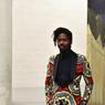 Joël Degbo a profité de l'espace disponible pour se lancer dans une série de peintures urbaines monumentales.