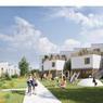 Immeuble de logements en terre crue par Bauchet & de La Bouvrie