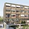 Rue Albert-Bayet (XIIIe) : le projet propose une restructuration des espaces du conservatoire et une surélévation de trois niveaux afin d'offrir des espaces artistiques (dont une salle de spectacles et des espaces de cours), un de coworking, un café associatif et une résidence étudiante. Livraison en 2019.