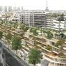 Rue Lecourbe (XVe) : constructions de 97 logements, d'une halte-garderie, de commerces et de parkings. Livraison en 2023.