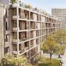 186, avenue Jean-Jaurès (partie neuve) et 85-89, rue Petit (partie réhabilitée) Paris XIXe : construction de 74 logements sociaux et 75 logements réhabilités. Livraison en 2021.