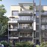 Le futur bâtiment «jardin».