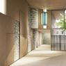 Le futur couloir qui longera l'ancien cloître.