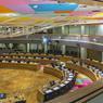 La grande salle du Conseil européen.