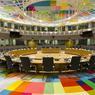La salle destinée aux chefs d'État et de gouvernement.