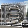 Une vue en coupe pour mieux comprendre les contraintes du bâtiment afin de ne pas trop peser sur la gare souterraine.