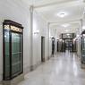 Le couloir des années 1920.