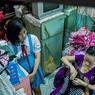 Des Vietnamiens logeant dans ces «micro-maisons».