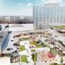 Après rénovation, le centre Évry 2 sera beaucoup plus ouvert sur la ville.