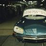 Dernière DS produite à l'usine Citroën de Javel en avril 1975