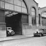 Entrée de l'usine Citroën de Javel en 1930
