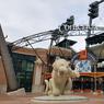 Le stade de base-ball des Detroit Tigers, propriété de la famille Ilitch, l'une des deux familles à se partager le cœur de la ville.