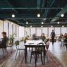 Les deux étages consacrés au coworking peuvent accueillir près de 300 personnes au total.