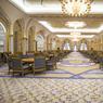 La salle à manger du palais, où plus de 700 convives peuvent se régaler.