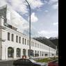 Les bureaux Corso-Karlin de Ricardo Bofill Taller Arquitectura, à Prague en Hongrie.