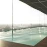 Vue d'artiste de la future piscine.