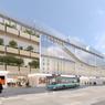 La gare sera plus ouverte aux autres moyens de transports, comme le réseau de bus