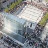 Lauréat 2019 mention extérieur, magasins : Apple Piazza Liberty, Milan, Italie.