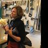 Jeanne Gang dans son atelier...