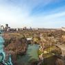 Depuis la terrasse, au-dessus de Central Park, une vue à couper le souffle. Comme si vous flottiez...